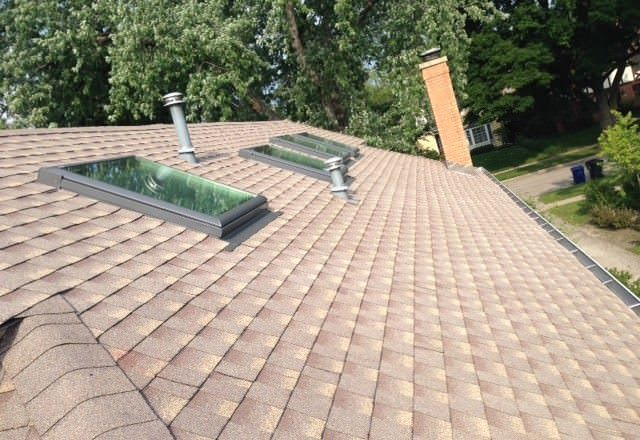 skylights and GAF Timberline ... COOL Seres shingles