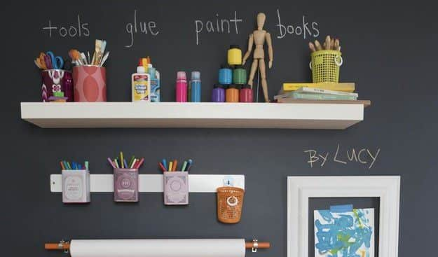 Clever Organizational Ideas For Your Child's Playroom