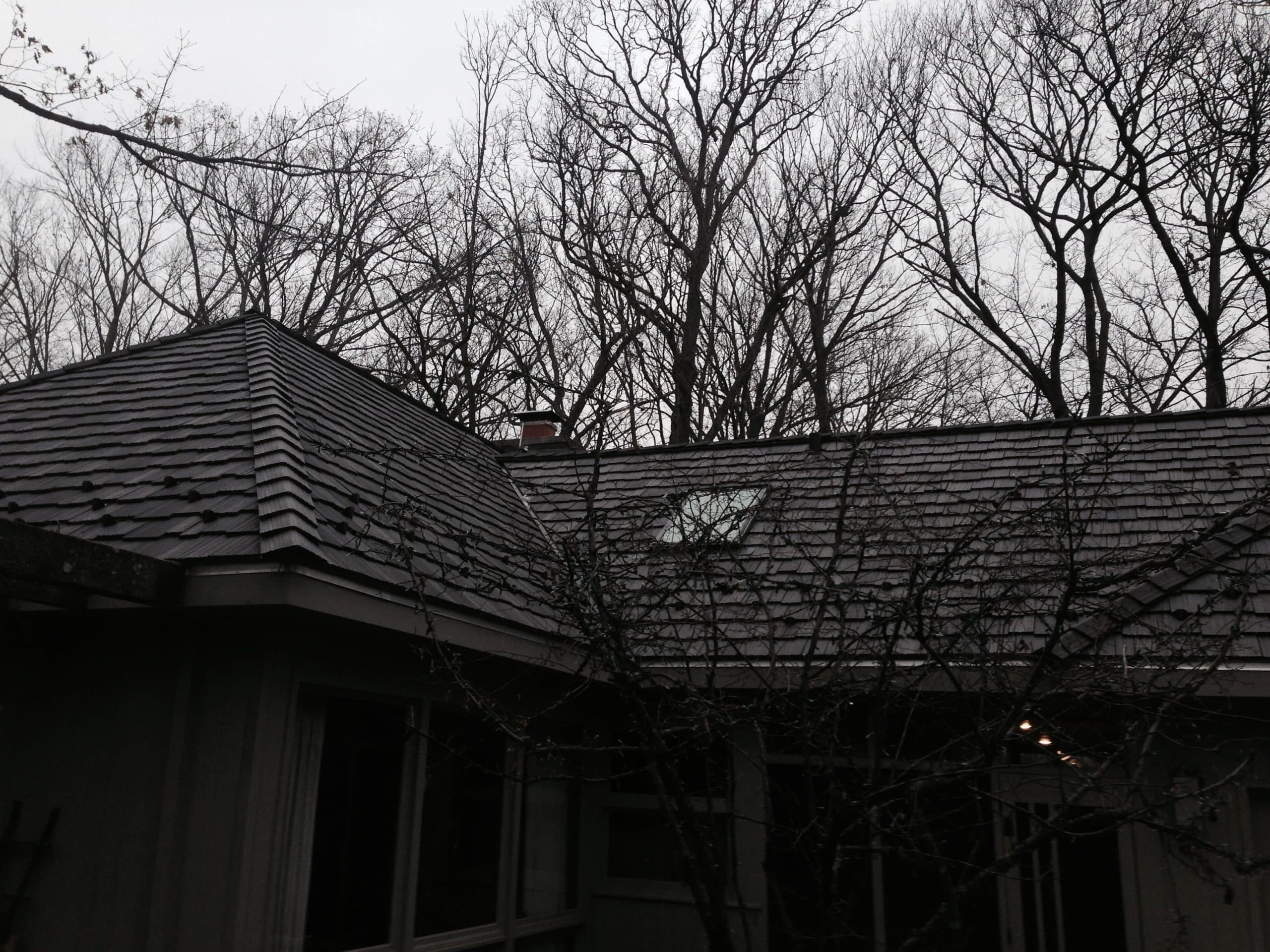 Davinci Synthetic Slate Roofing Amp Snow Guards Installation