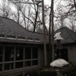 Synthetic Slate Roofing Install