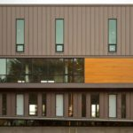 Wall Panel - Single lock standing seam / Vmzinc