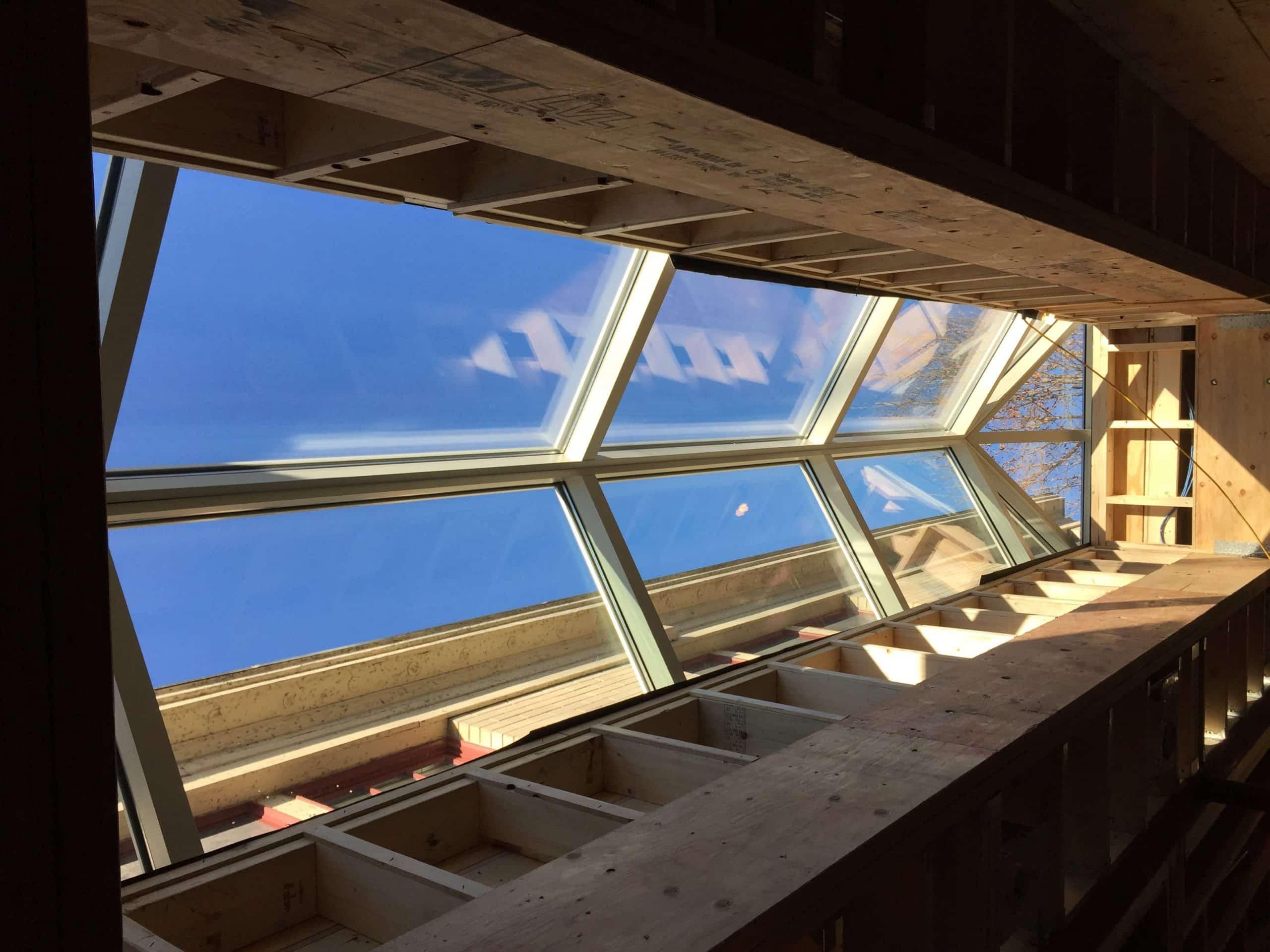 Skylight Reframing And Skylight Installation Glencoe Il