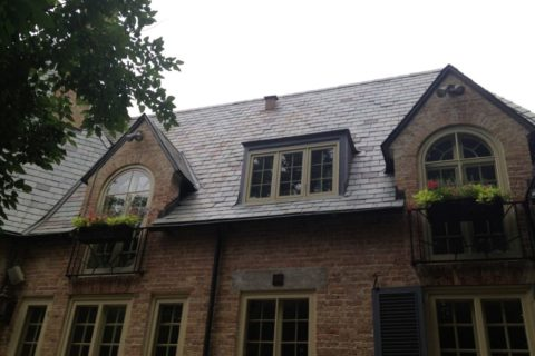Stonegate Rd, Lake Forest - Natural Slate Roofing