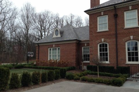 Natural Slate Roof in Lake Forest IL
