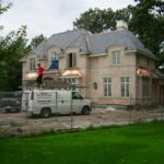 Natural Slate & Custom Copper Roof - Glencoe, IL