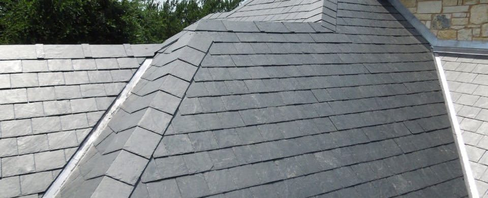 Slate Roofing Installation - Chicago