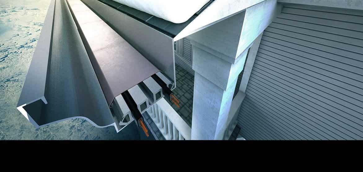 Icearmour Gutter Heat Panels