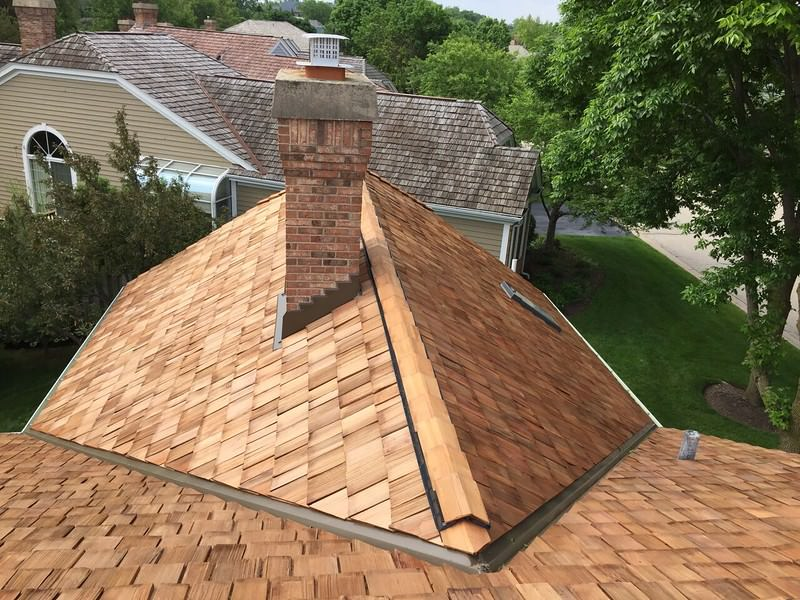 Before-Cedar Roofing Before and After