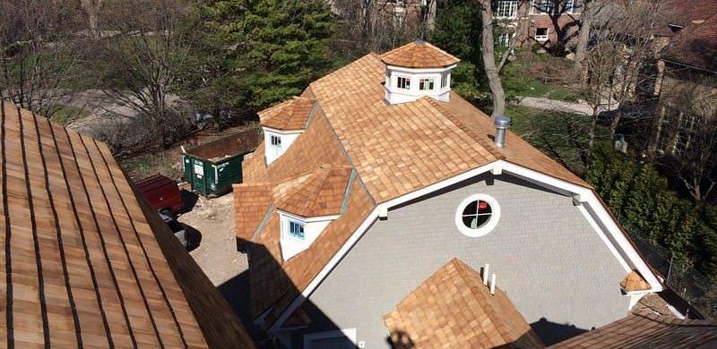 cedar shake and shingle roof