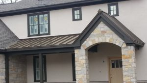 Metal Roofing - Pella Windows Project- Deerfield IL