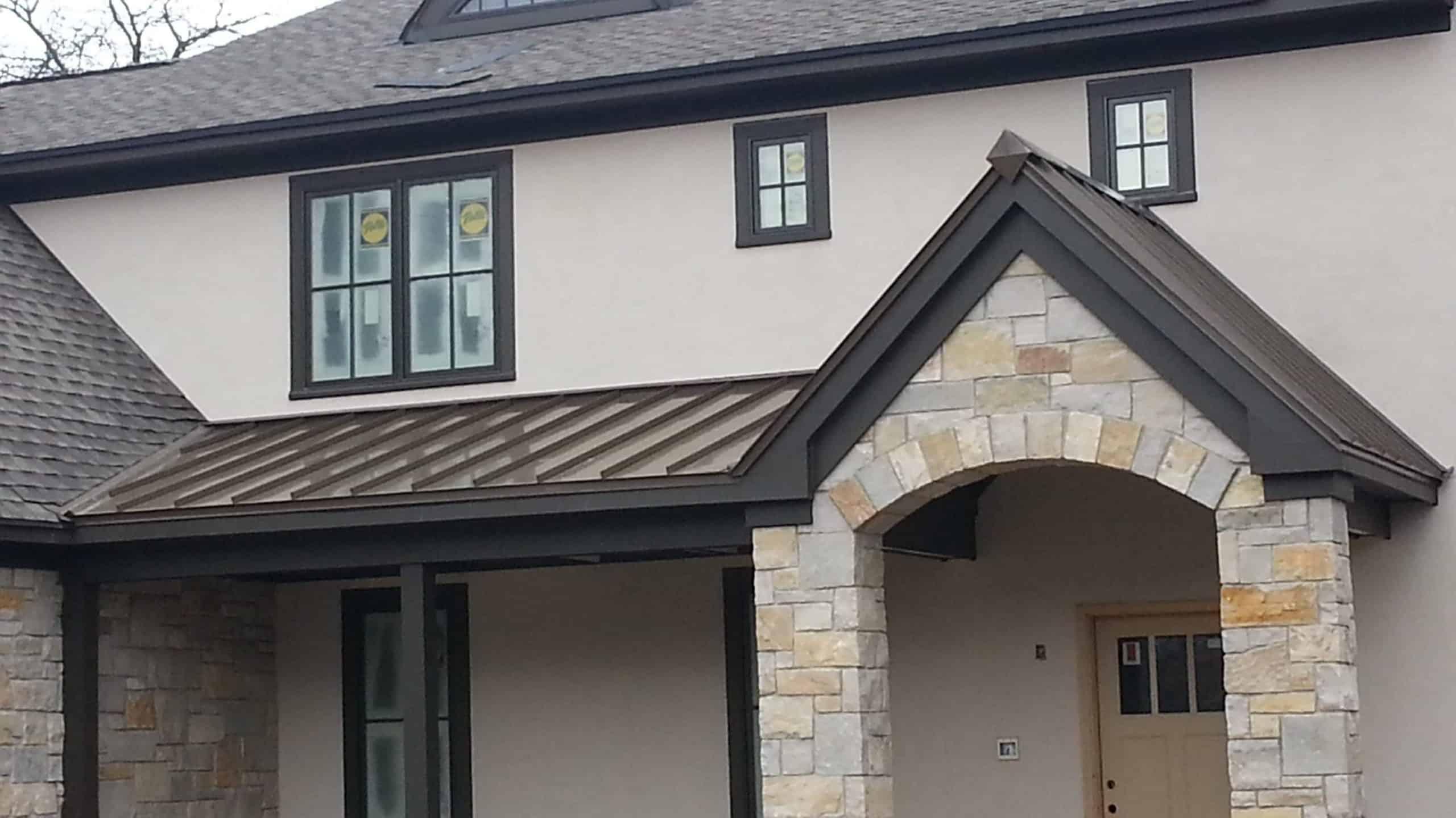 Steel Roofing Pella Windows Project Deerfield Il