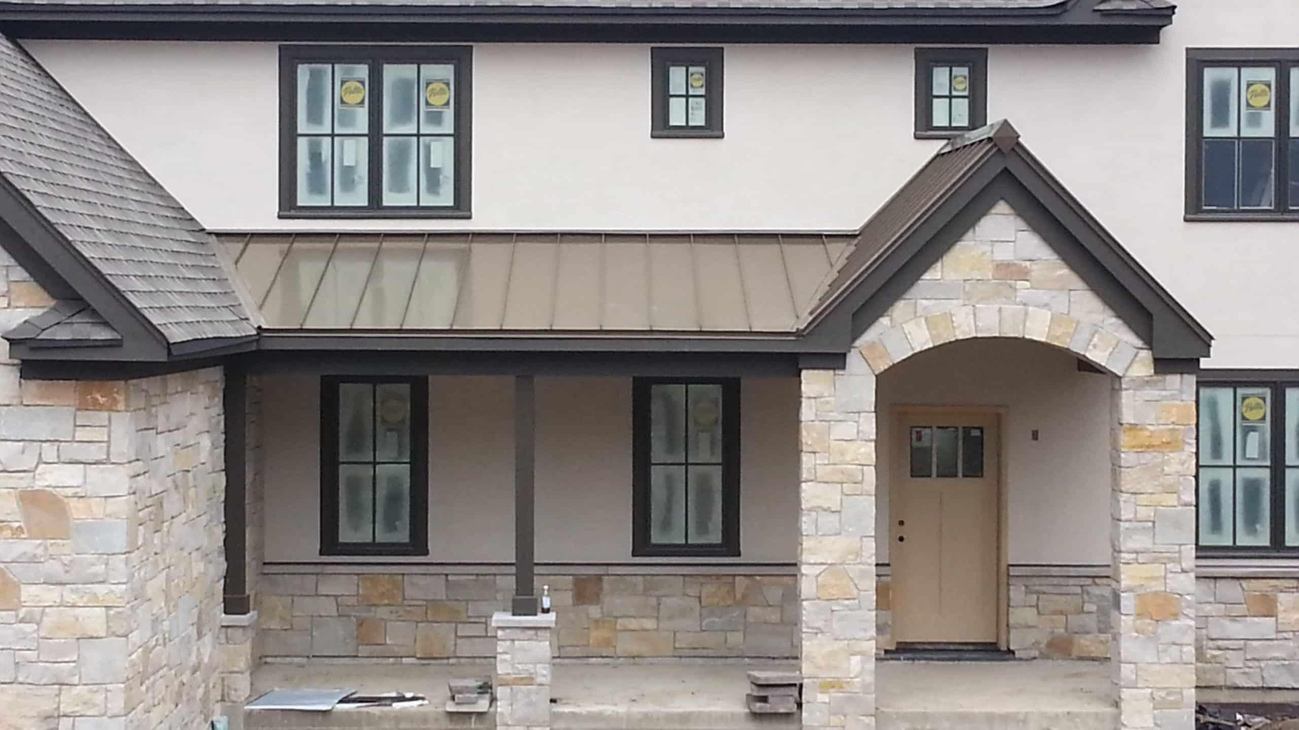 Metal Roofing Pella Windows Project Deerfield Il