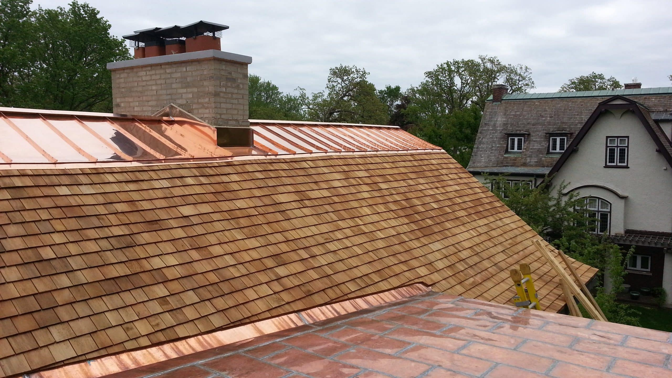 Cedar Roofing And Copper Roofing Kenilworth Il