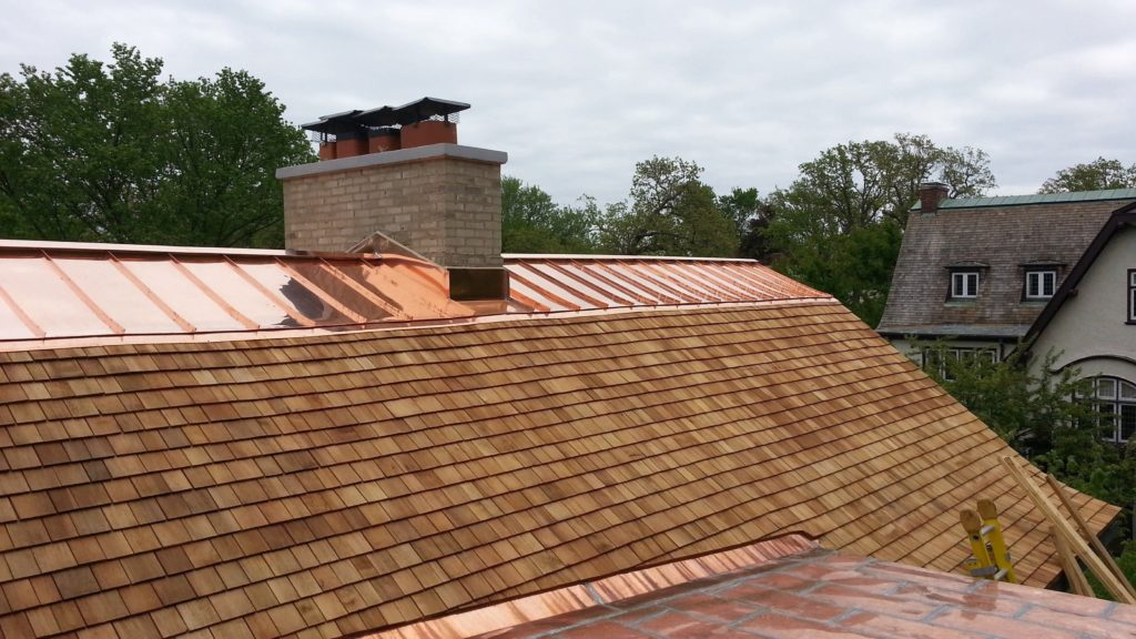 Cedar Roofing and Copper Roofing - Kenilworth IL