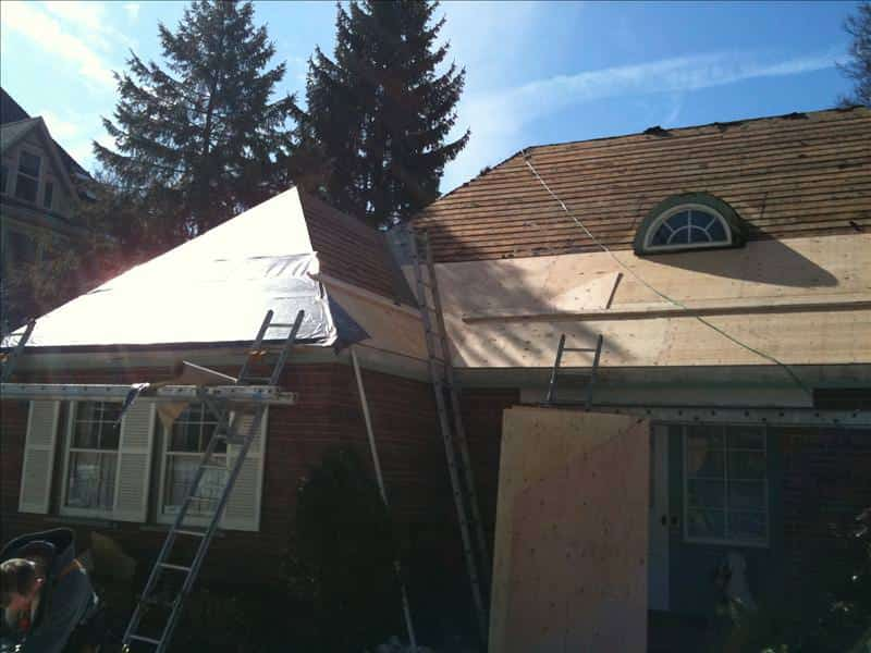 Davinci roofscapes roofing project 847 827 1605 for Davinci slate roof reviews