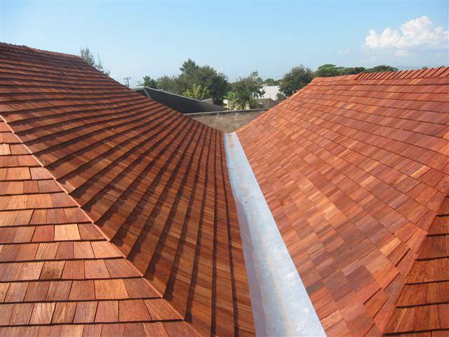 Turada Hardwood Roofing Shingles A B Edward Ent