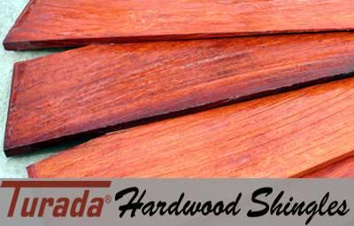Turada® Hardwood Shingles (847) 827-1605