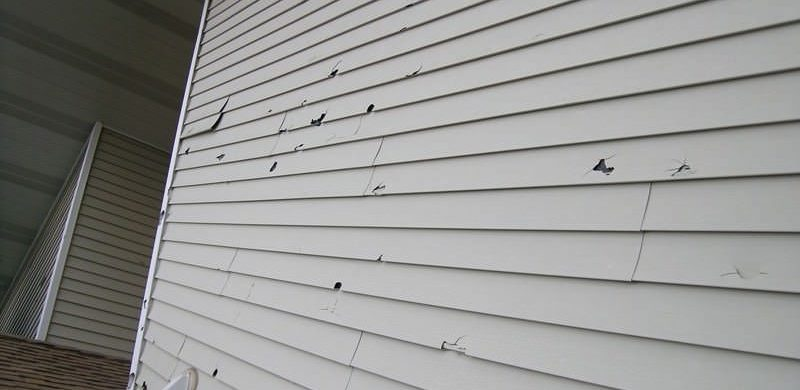 Wind Damaged Siding Chicago