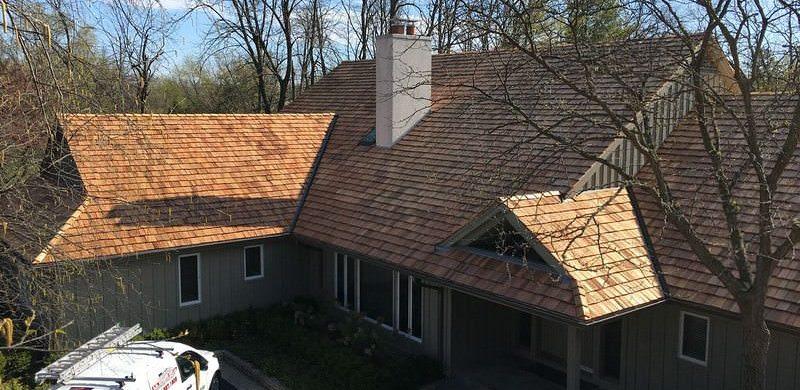 Cedar Roofing Contractor Chicago - A.B. Edward Enterprises Inc. (847) 827-1605