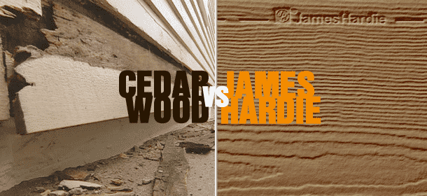 Cedar siding vs fiber cement pros cons for Fibre cement siding pros and cons