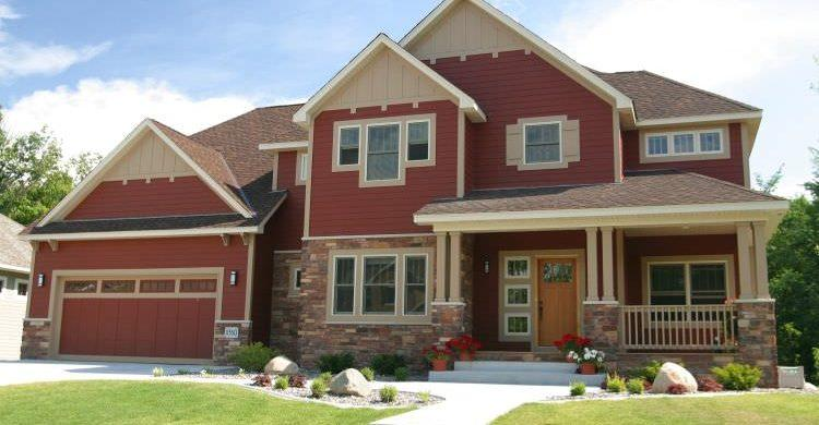 Countrylane Red James Hardie Siding Chicago