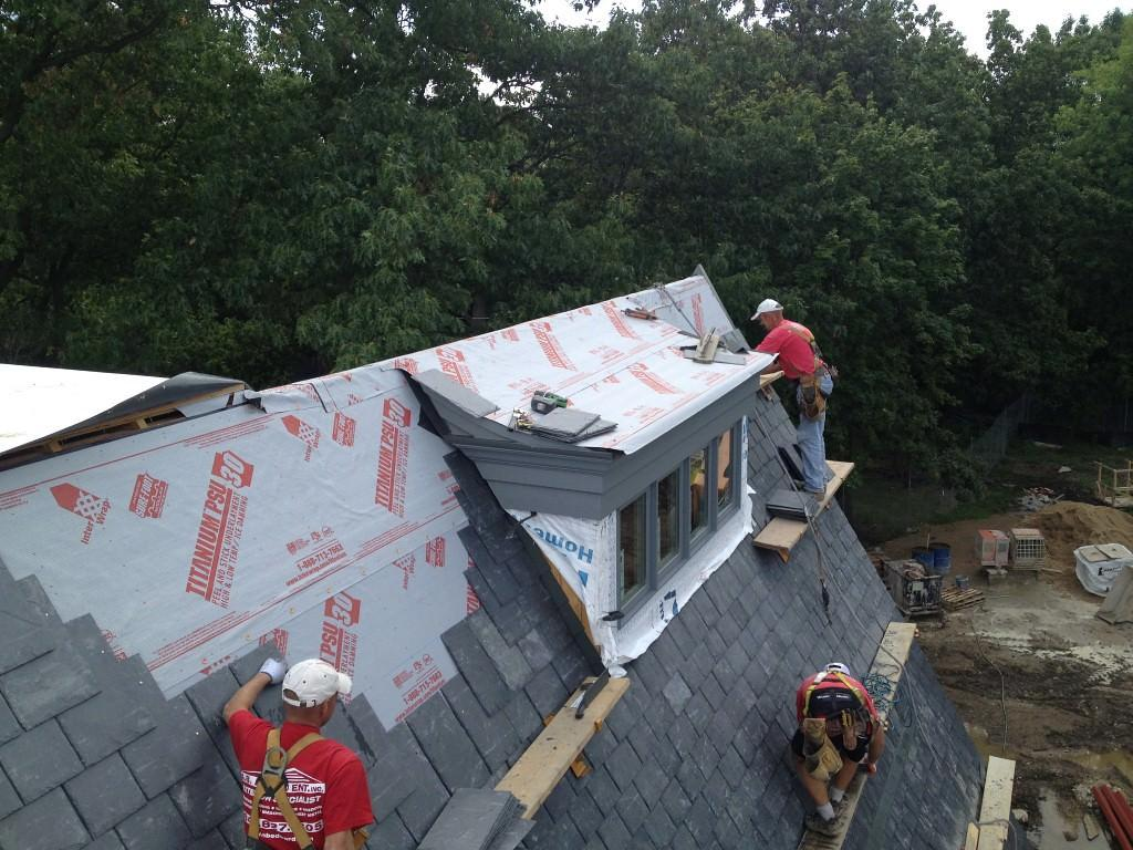 Chicago Slate Roofing Company Natural And Synthetic