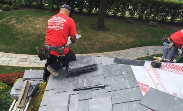 Slate Roofing Chicago - AB Edward Installers