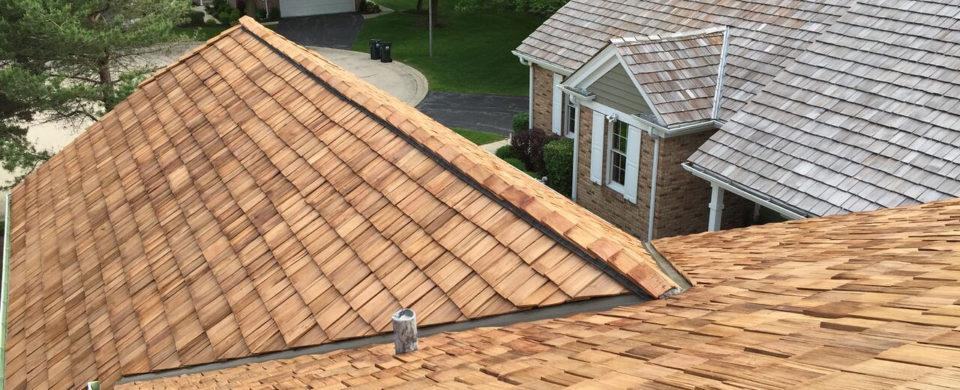 Cedar shake roofing company chicago