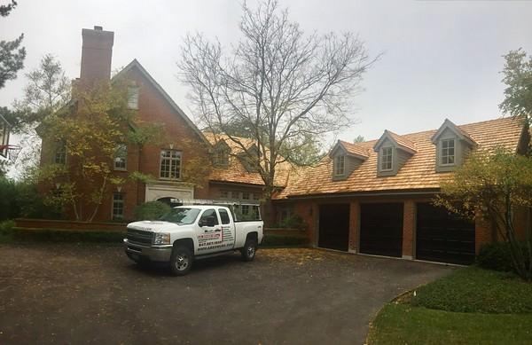 We are Chicago cedar shake roofing installation experts.