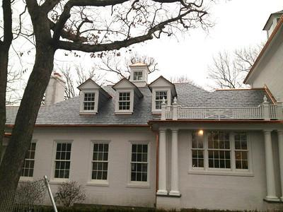 Natural Slate Roofing - Chicago