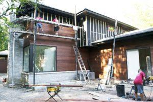 Massaranduba Wood Siding Installation - Highland Park IL