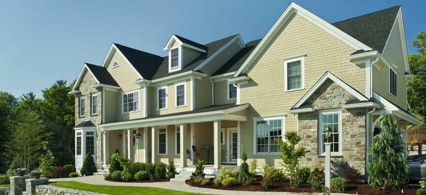 Autumn Tan: James Hardie Siding