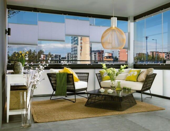 Lumon Retractable Balcony Glass