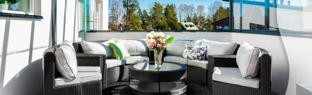 Retractable Balcony Glass