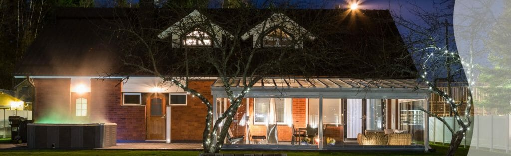 Retractable Terrace Glass