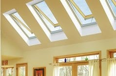 Solar venting skylight FVS