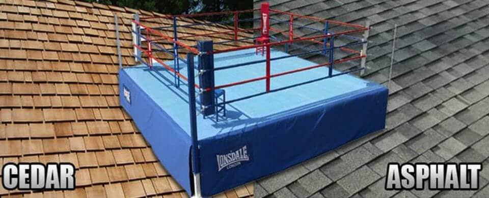 Cedar Shake Roofing vs Asphalt Shingle Roofing