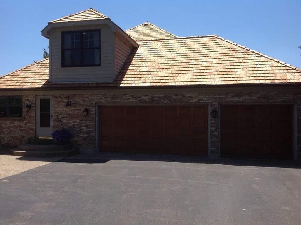 cedar shake roof install