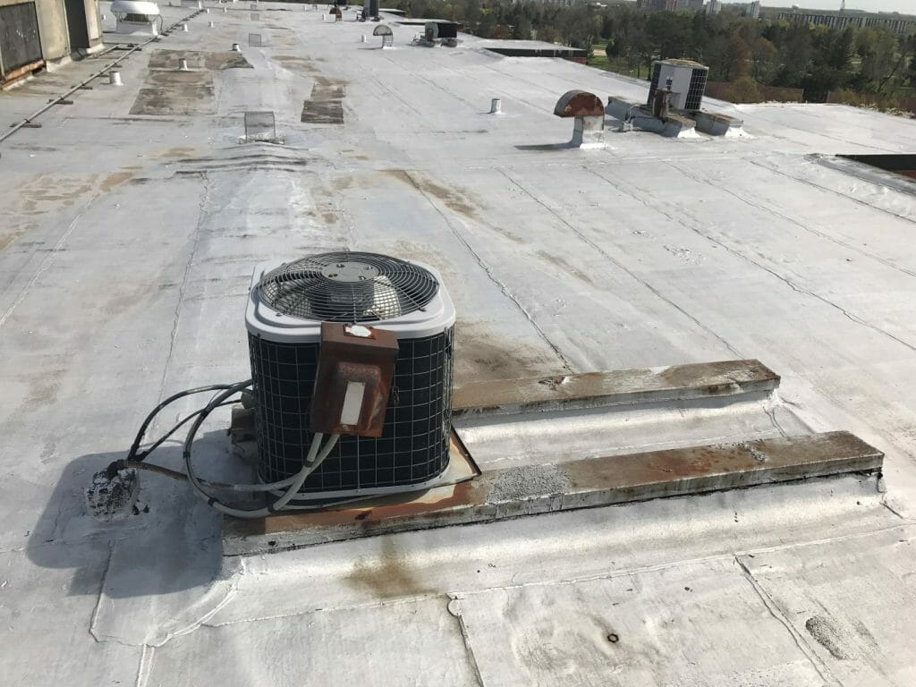 Flat roofs require special protection from water and weather