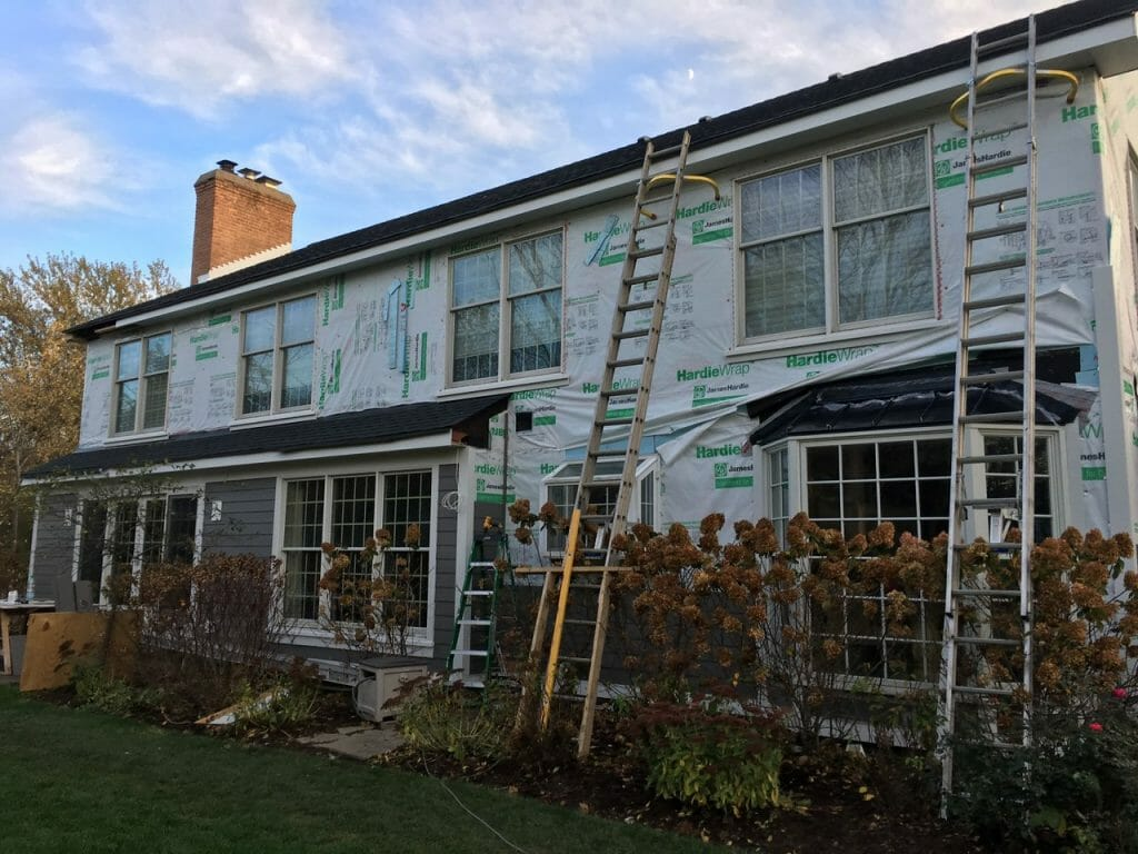 Replacing siding can be tricky. Be sure to call an expert contractor like A.B. Edward Enterprises, Inc.