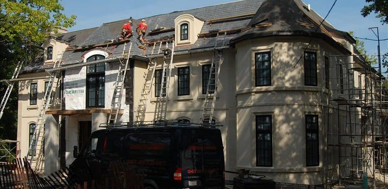 Roof Replacement Project on Budget