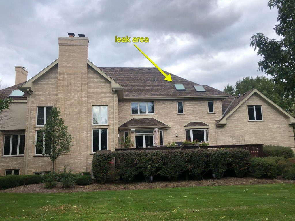 Roof Inspection by A.B Edward Enterprises, Inc.