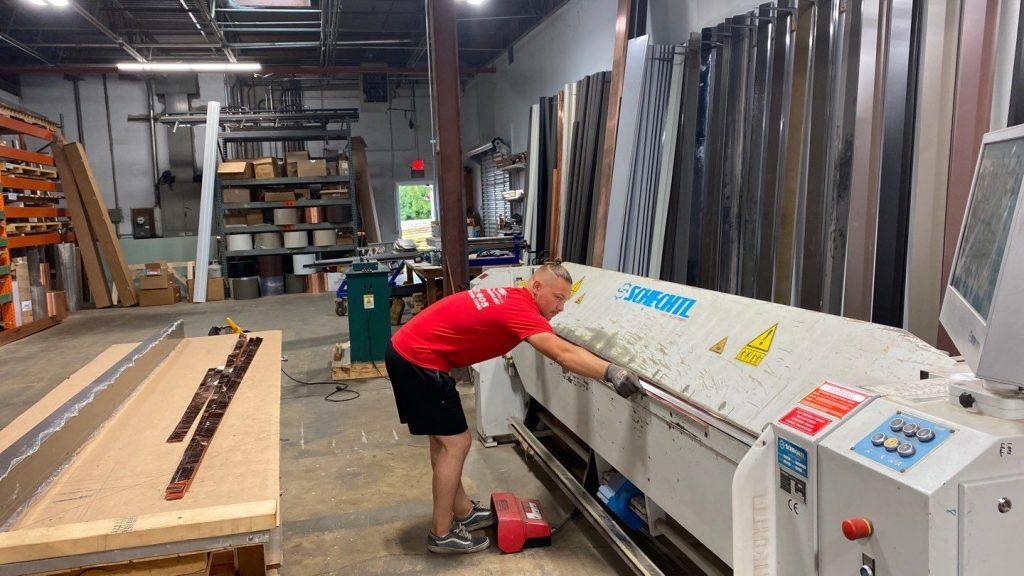 In-House Custom Sheet Metal Fabricating   Metal Roofing